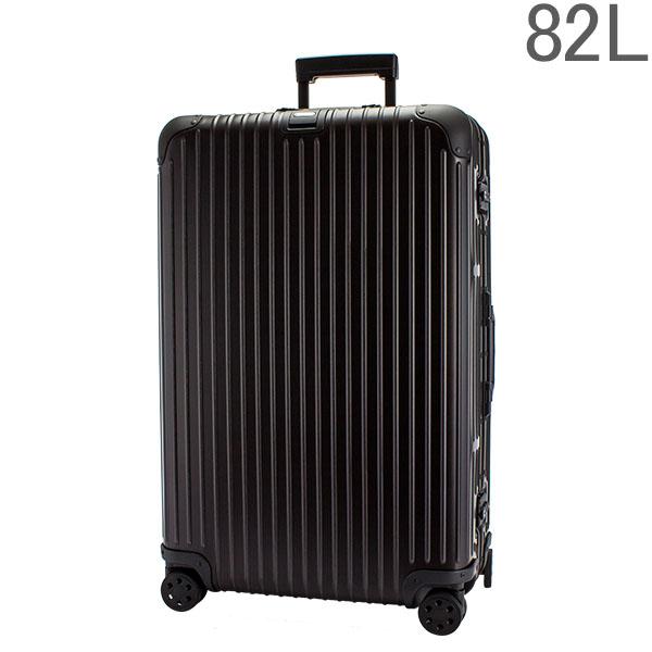 リモワ RIMOWA トパーズ ステルス 924.73.01.4 TOPAS STEALTH マルチホイール 82L 【4輪】 ブラック スーツケース