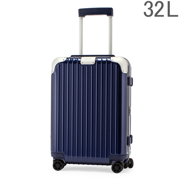 リモワ RIMOWA ハイブリッド 88352604 キャビン S 32L 機内持ち込み スーツケース Hybrid グロスブルー