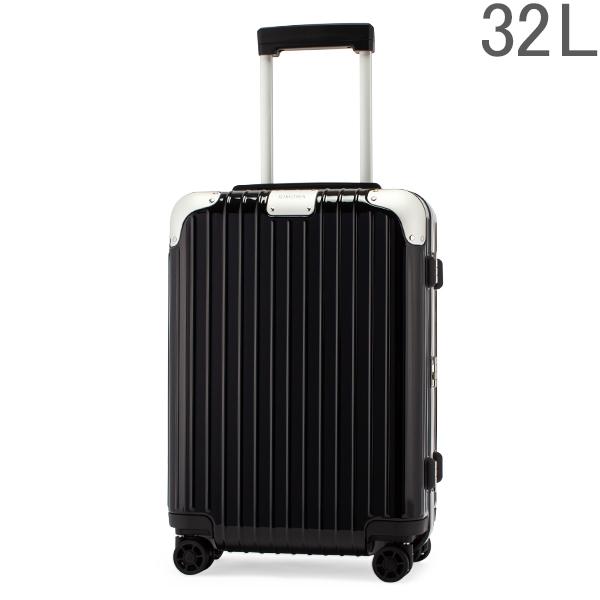 リモワ RIMOWA ハイブリッド 88352624 キャビン S 32L 機内持ち込み スーツケース Hybrid グロスブラック