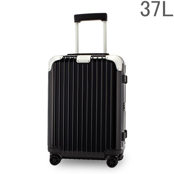 リモワ RIMOWA ハイブリッド 88353624 キャビン 37L 機内持ち込み スーツケース Hybrid グロスブラック