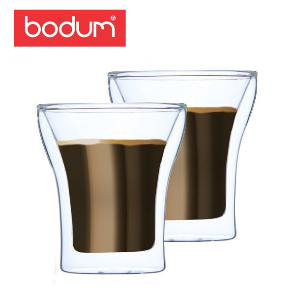 �y365��o�בΉ��zBodum�{�_���A�b�T���_�u���E�H�[���O���X2�ƒZ�b�g0.2L Assam DWG4555-10US Double Wall Tumbler setof2�N���A