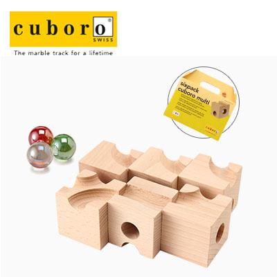 【365日出荷対応】Cuboro キュボロ (クボロ) シックスパック ムルティ(マルチ)1 sixpack multi 10141 キッズ・木のおもちゃ・積み木