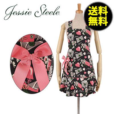 Jessie Steele �W�F�V�[�X�e�B�[�� Josephine Apron �W���Z�t�B�� �G�v���� Floral Love Letters �t���[�������u���^�[ 111-JS-241