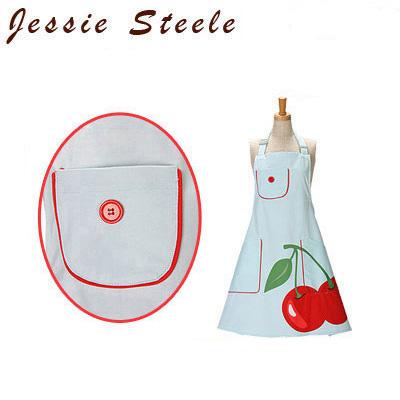 �y365��o�בΉ��zJessieSteele �W�F�V�[�X�e�B�[���@�G�v���� �X�[�p�[�`�F���[ 305-JS-155CP Bib Chef�fs(c) Apron Super Cherry