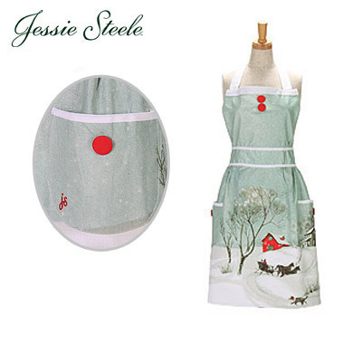 �W�F�V�[�X�e�B�[���@�G�v���� �z�[���t�H�[�U�z���f�[ 130-JS-174 Bib Doris Apron Home for the Holidays �J�t�F�g���� �l�R�|�X����
