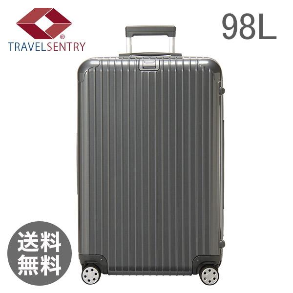 RIMOWA リモワ サルサデラックス 874.73 87473 【4輪】 スーツケース マルチ 【SALSA DELUXE】 グレー Multiwheel 98L (830.73.54.4)