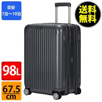 RIMOWA ������ �T���T 874.65 87465 �f���b�N�X �y4�ցz �}���`�z�C�[�� SALSA Deluxe Grey MultiWheel 65 �O���[ 98L