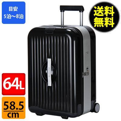 RIMOWA ������ 840.58 84058 Porsche Design �|���V�F �f�U�C�� AluFrame XL trolley case �u���b�N WAP 035 444 0A �X�[�c�P�[�X