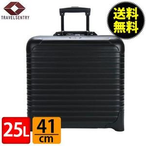 RIMOWA リモワ サルサ 833.40 83340 ビジネストローリー 2輪 スーツケース ブラック  25L (810.40.32.2)