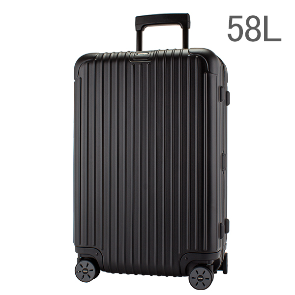 RIMOWA リモワ サルサ 834.63 83463 マルチホイール 4輪 スーツケース ブラック MULTIWHEEL 58L (810.63.32.4)