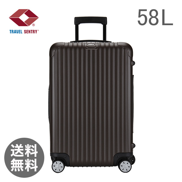 RIMOWA リモワ 810.63.38.4 ルサ SALSA 輪MultiWheel matte bronze マットブロンズ スーツケース58L