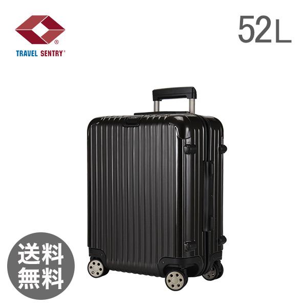 RIMOWA ������ SALSA Deluxe �T���T�f���b�N�X 830.56.33.4 �L���r���}���`�z�C�[�� granite �O���i�C�g�u���E�� Cabin MultiWheel ��52L