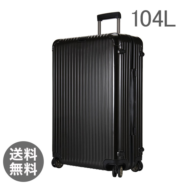 RIMOWA ������ SALSA Deluxe �T���T�f���b�N�X 830.77.33.4 �}���`�z�C�[�� granite brown �u���E�� MultiWheel 104L