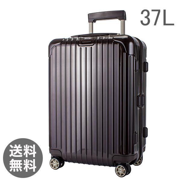 リモワ RIMOWA サルサ デラックス 37L 4輪 830.53.52.4 キャビンマルチホイール キャリーバッグ 茶 チョコレート スーツケース