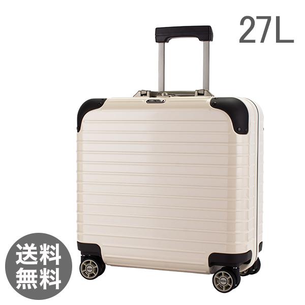 リモワ Rimowa リンボ 27L 4輪 881.40.13.4 ビジネスマルチホイール スーツケース クリームホワイト Limbo キャリーバッグ