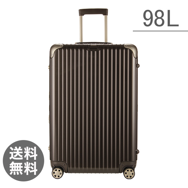 リモワ RIMOWA リンボ 98L マルチホイール 881.77.33.4 スーツケース グラナイトブラウン Limbo MultiWheel