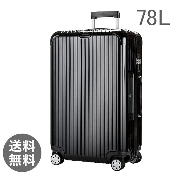 RIMOWA リモワ 【4輪】 サルサ デラックス 831.70.50.5 スーツケース マルチ 【Salsa Deluxe 】 Multiwheel ブラック 78L 電子タグ 【E-Tag】