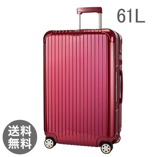 リモワ サルサ デラックス 831.63.53.5 スーツケース マルチ オリエント レッド 61L 電子タグ 【E-Tag】