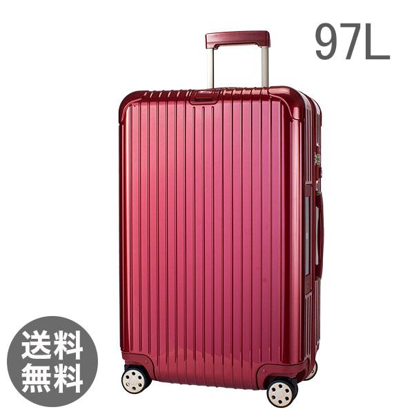 RIMOWA リモワ 【4輪】 サルサ デラックス 831.77.53.5 スーツケース マルチ 【Salsa Deluxe 】 Multiwheel レッド 97L 電子タグ 【E-Tag】