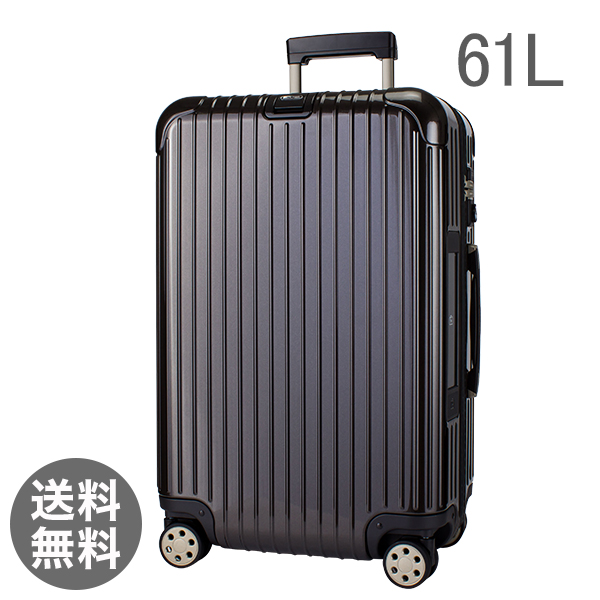 【E-Tag】 電子タグ  リモワ SALSA Deluxe サルサデラックス 830.63.33.4 マルチホイール granite brown グラナイトブラウン MultiWheel 約61L