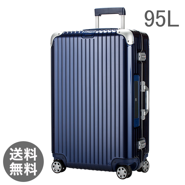 【E-Tag】 電子タグ RIMOWA リモワ リンボ 818.77 81877 マルチホイール 4輪 スーツケース ナイトブルー Multiwheel 95L (881.77.21.4)