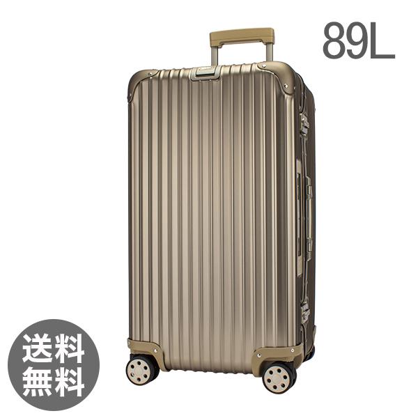 【E-Tag】 電子タグ リモワ トパーズシャンパンゴールド 89L 4輪 923.75.03.5 スポーツ MultiWheel スーツケース