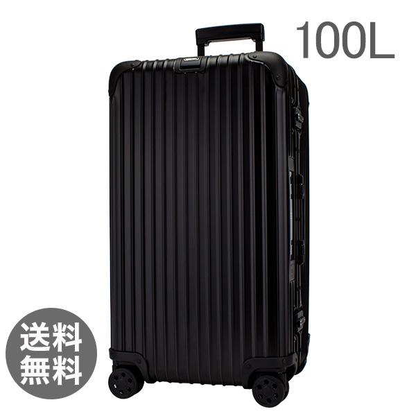 【E-Tag】 電子タグ リモワ トパーズステルス 100L 4輪 923.80.01.5 スポーツ ブラック スーツケース