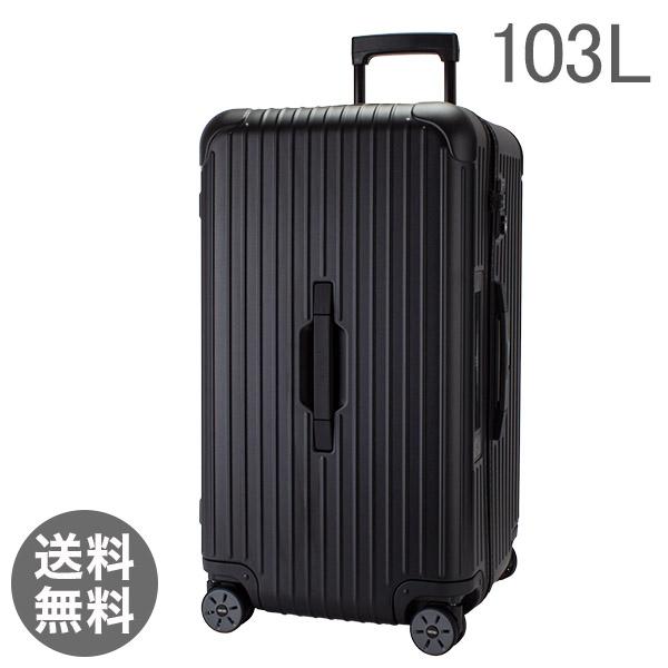 【E-Tag】 電子タグ RIMOWA リモワ サルサ 811.80.32.5 スポーツ マルチホイール 4輪 スーツケース ブラック Sport Multiwheel 103L