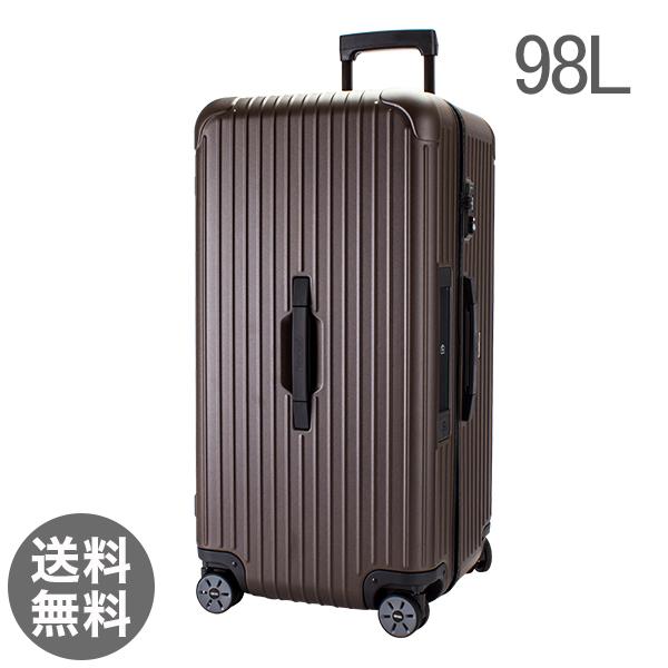 【E-Tag】 電子タグ RIMOWA リモワ 810.80.38.4 ルサ SALSA ポーツ 4輪Sport MultiWheel 80 matte bronze マットブロンズ スーツケース