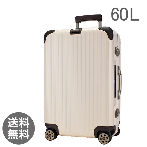 【E-Tag】 電子タグ リモワ スーツケース 60L リンボ 4輪 マルチホイール 882.63.13.5 クリームホワイト Limbo Multiwheel Creme White キャリーケース
