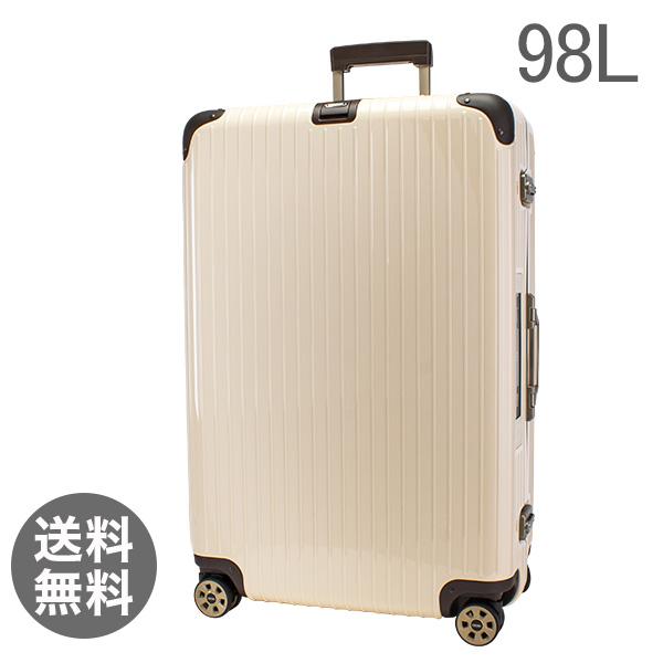 【E-Tag】 電子タグ リモワ スーツケース 98L リンボ 4輪 マルチホイール 882.77.13.5 クリームホワイト Limbo Multiwheel Creme White キャリーケース