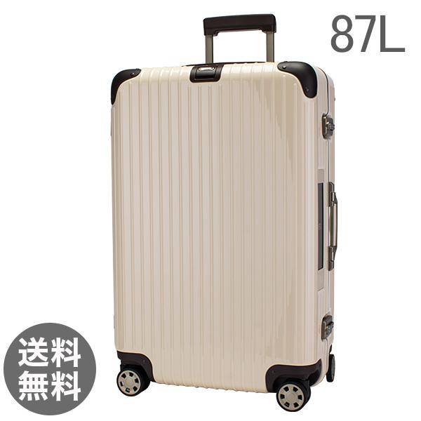 【E-tag】 電子タグ リモワ Rimowa リンボ 87L 4輪 マルチウィール スーツケース 882.73.13.5 ホワイト Limbo MultiWheel White キャリーバッグ