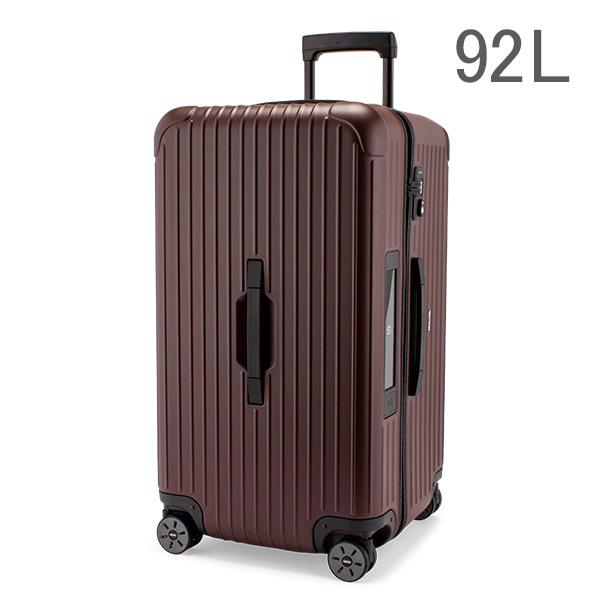 Rimowa スーツケース 92L サルサ スポーツ 811.75.14.5 カルモナレッド TSAロック 4輪 電子タグ 【E-Tag】