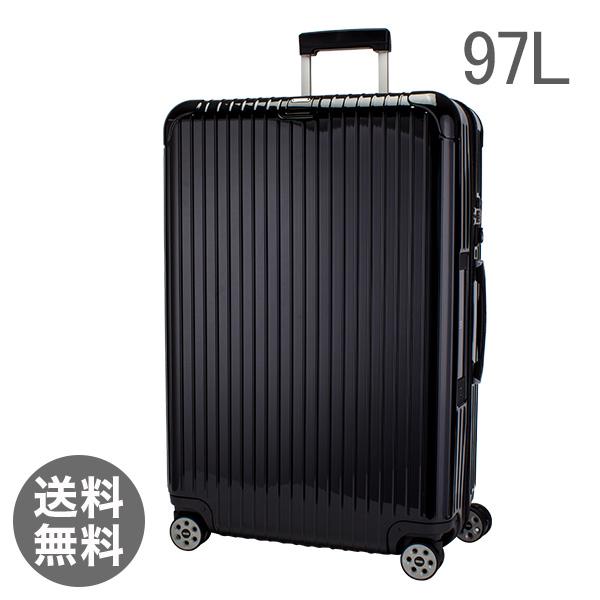 RIMOWA リモワ 【4輪】 サルサ デラックス 831.77.50.5 スーツケース マルチ 【Salsa Deluxe 】 Multiwheel ブラック 97L 電子タグ 【E-Tag】