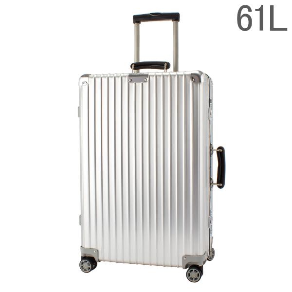 リモワ RIMOWA 【Newモデル】 クラシック 97263004 チェックイン M 61L 4輪 スーツケース シルバー Classic 旧 クラシックフライト