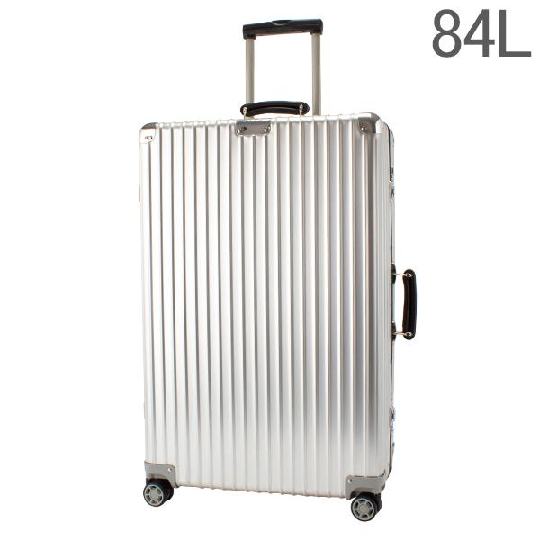 リモワ RIMOWA 【Newモデル】 クラシック 97273004 チェックイン L 84L 4輪 スーツケース シルバー Classic 旧 クラシックフライト