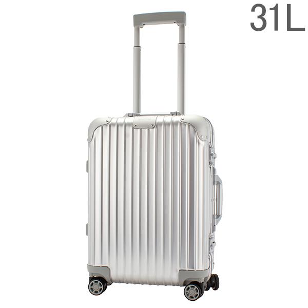 リモワ RIMOWA 【Newモデル】 オリジナル 92552004 キャビン S 31L 4輪 機内持ち込み スーツケース シルバー Original Cabin S Silver 旧 トパーズ