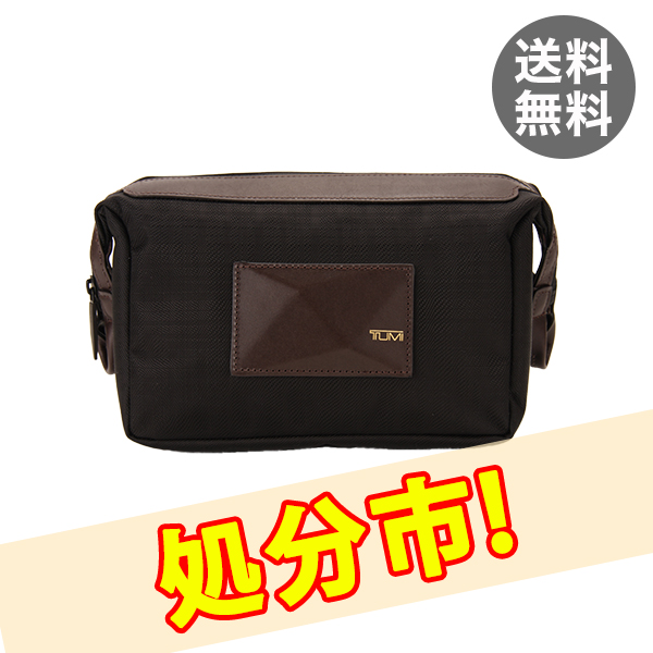 TUMI トゥミ 68717 Travel Kit ドロラール・トラベルキット セカンドバッグ ポーチ 鞄 オニキス