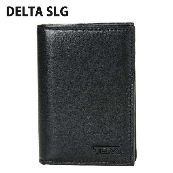 TUMI トゥミ 18656 SLG デルタ Gusseted Card Case ID ガゼット・カードケース・ID Black ブラック 名刺入れ