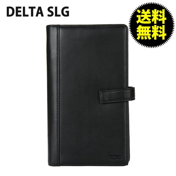 TUMI トゥミ 18676 SLG デルタ Ultimate Travel Organizer アルティメット・トラベル・オーガナイザー Black ブラック 財布・パスポートケース