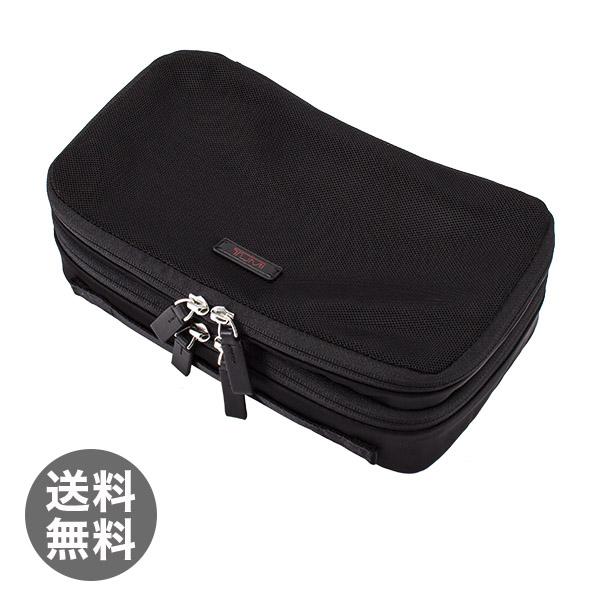 トゥミ Tumi スモール デュアルコンパートメント パッキングキューブ トラベルポーチ 14898D ブラック 旅行 トラベル パッキングケース パッキングポーチ