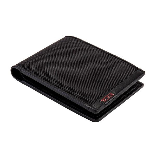 トゥミ Tumi 財布 メンズ アルファ ダブル・ビルフォールド 二つ折り財布 札入れ カードケース  ブラック