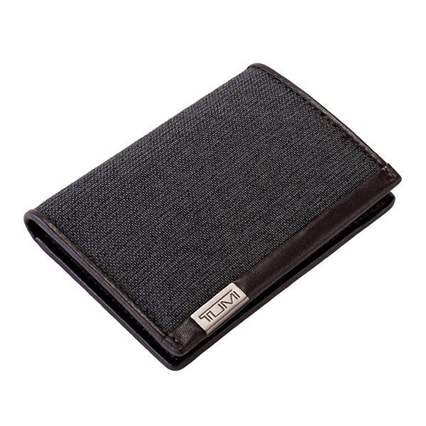 トゥミ Tumi カードケース マルチウィンドウ パスケース 名刺入れ 0119274AT-ID アンスラサイト