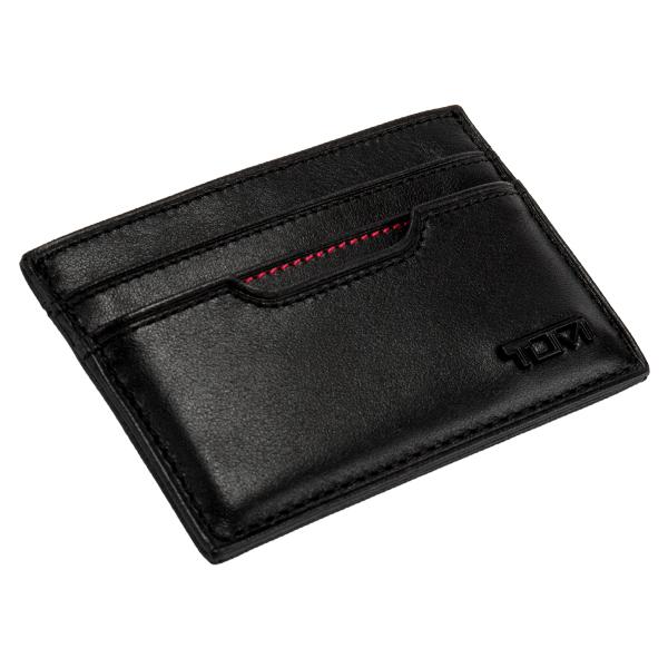 トゥミ Tumi スリム カードケース メンズ 名刺入れ レザー 革 0118659D-ID ブラック  プレゼント ギフト