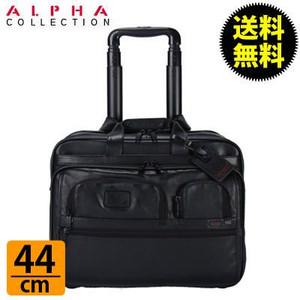 TUMI トゥミ 96127DH ALPHA アルファ Deluxe Wheeled Brief with Laptop Case キャリーケース+ラップトップケース Black