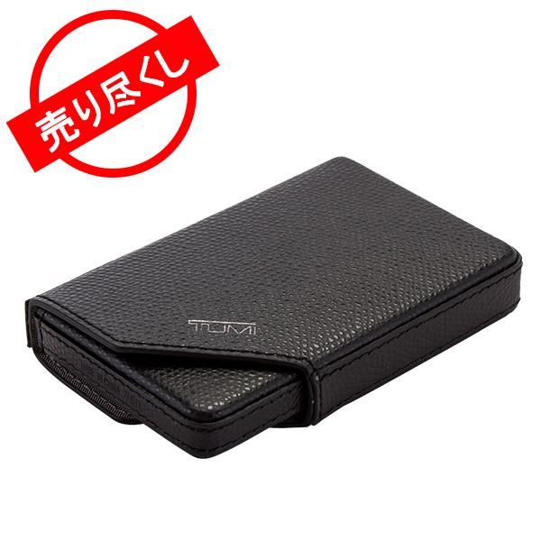 トゥミ Tumi ビジネス カードケース 革 レザー 名刺入れ 11820D ブラック Camden SLG Business Card Case Black プレゼント ギフト
