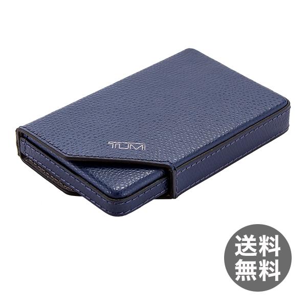 トゥミ Tumi ビジネス カードケース 革 レザー 名刺入れ 11820IND インディゴ Camden SLG Business Card Case Indigo プレゼント ギフト