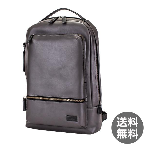 トゥミ Tumi ベイツ バックパック リュック レザー 63011GRY グレー Harrison Bates backpack Gray リュックサック メンズ ビジネス バッグ