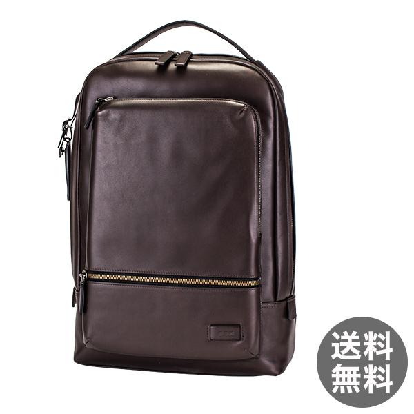 トゥミ Tumi ベイツ バックパック リュック レザー 63011B ブラウン Harrison Bates backpack Brown リュックサック メンズ ビジネス バッグ
