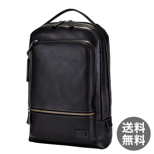トゥミ Tumi ベイツ バックパック リュック レザー 63011D ブラック Harrison Bates backpack Black リュックサック メンズ ビジネス バッグ
